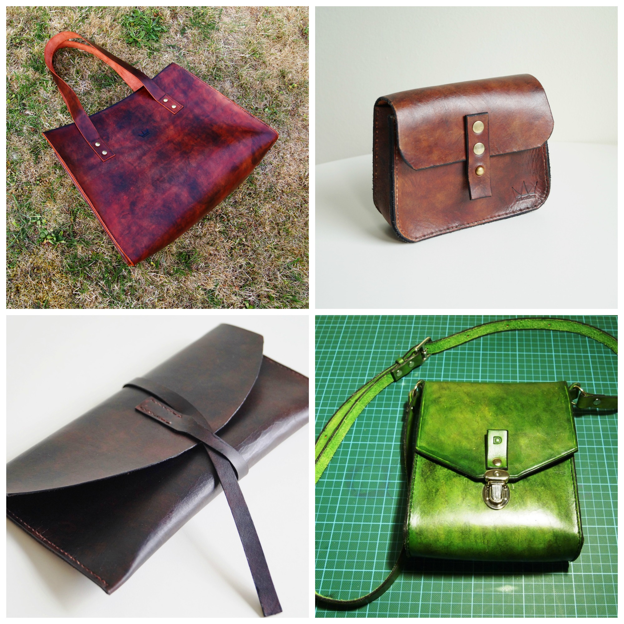 Handmade leather bags from TeLeather